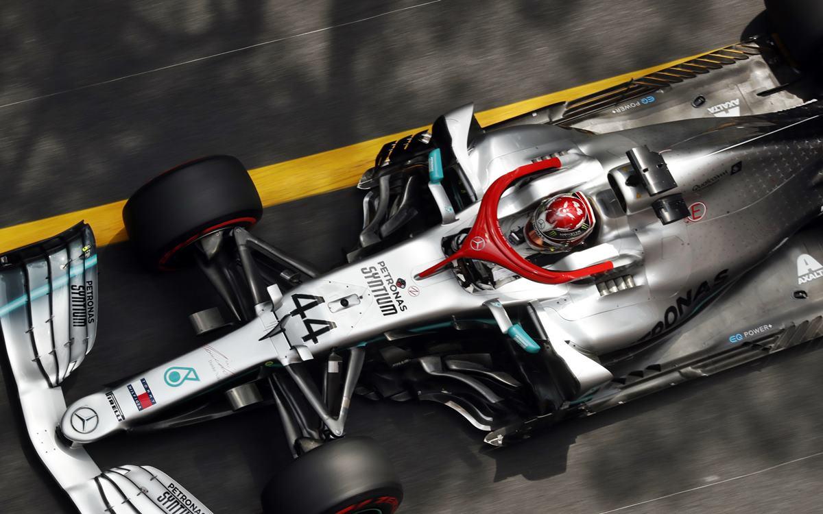 Lewis Hamilton con pole récord en Mónaco