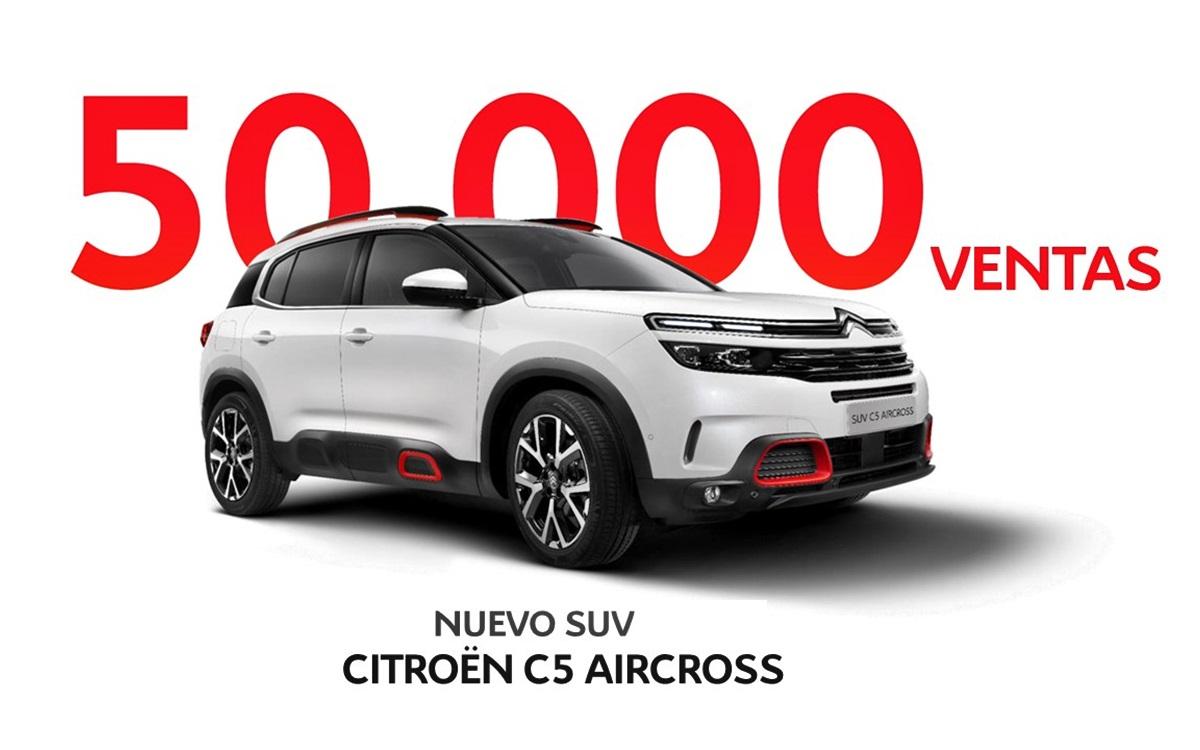 El nuevo Citroën C5 Aircross arrasa en Europa
