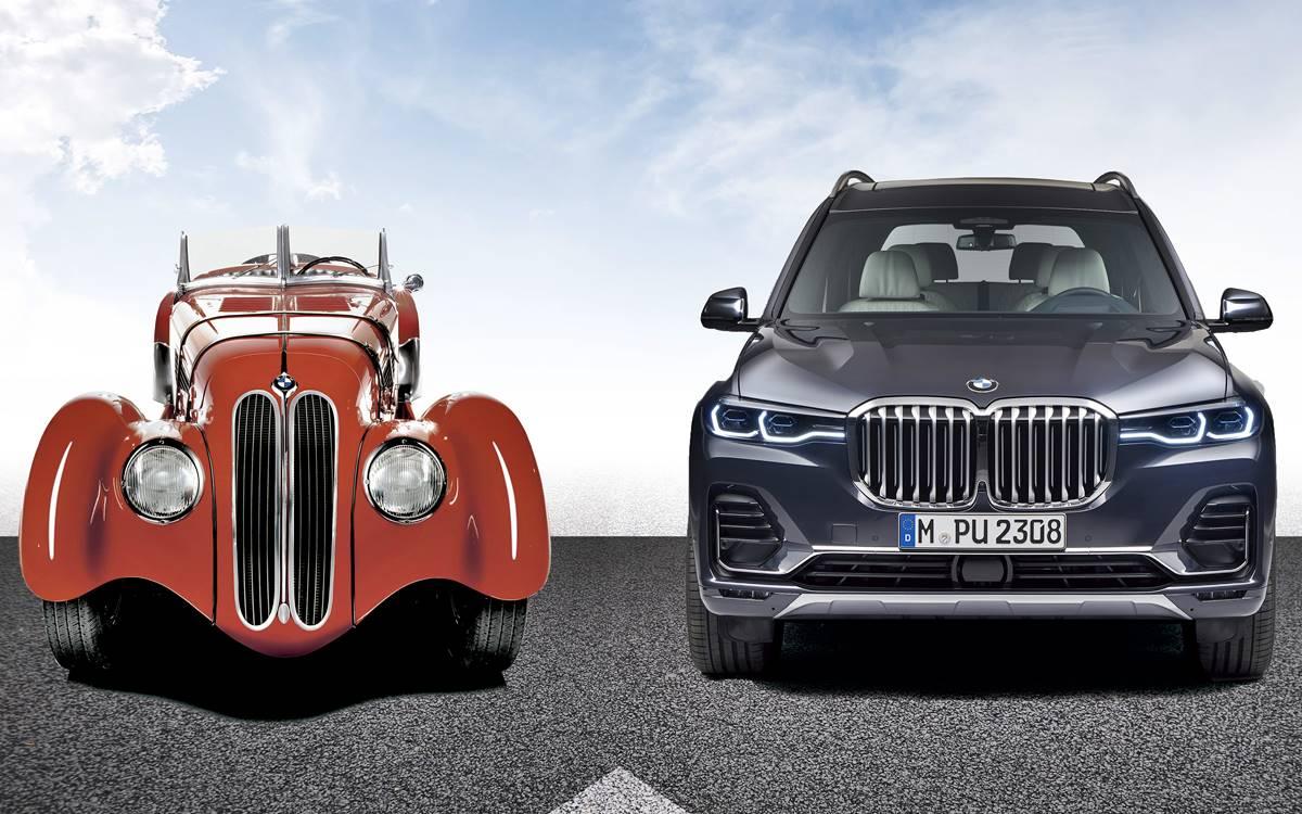La evolución de la parilla de BMW