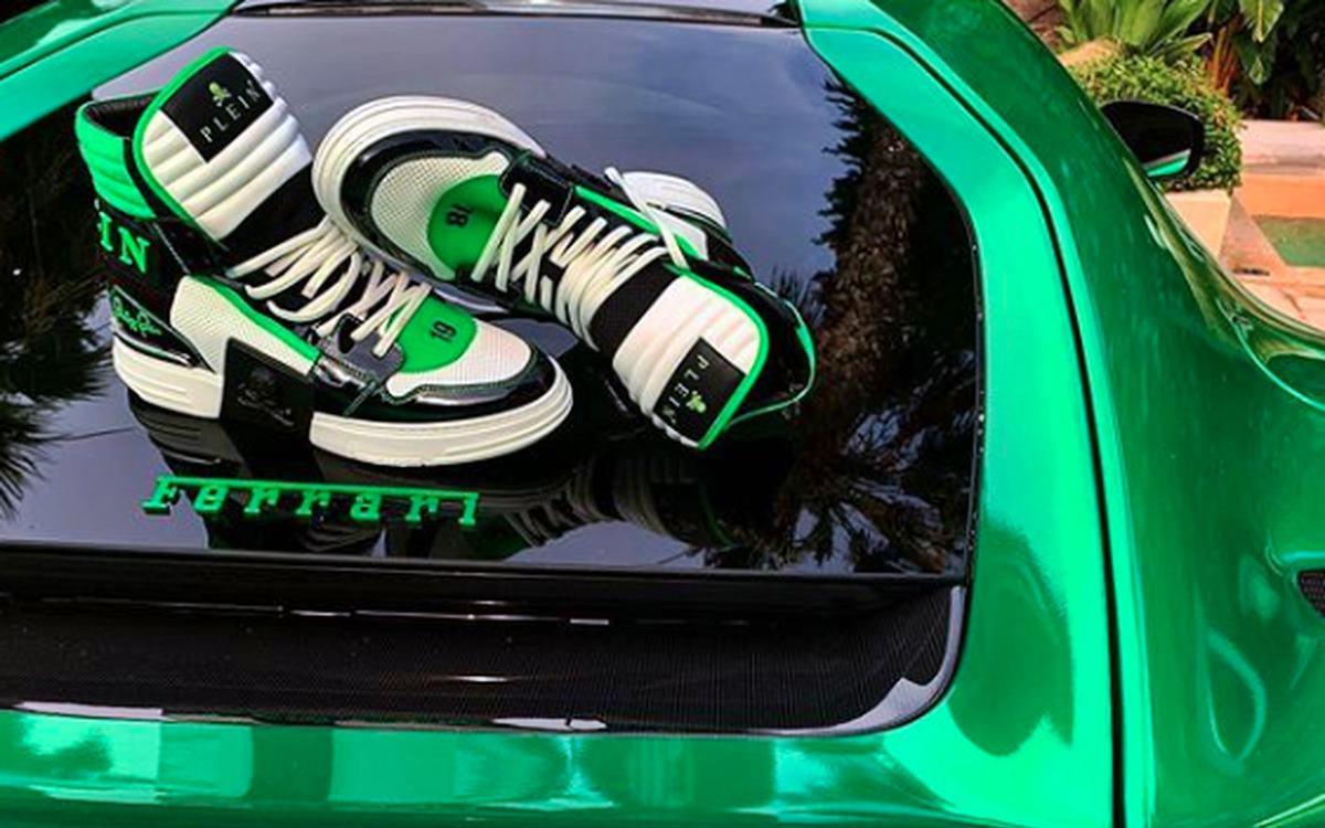 El par de zapatillas de Philipp Plein que hacen temblar a Ferrari…