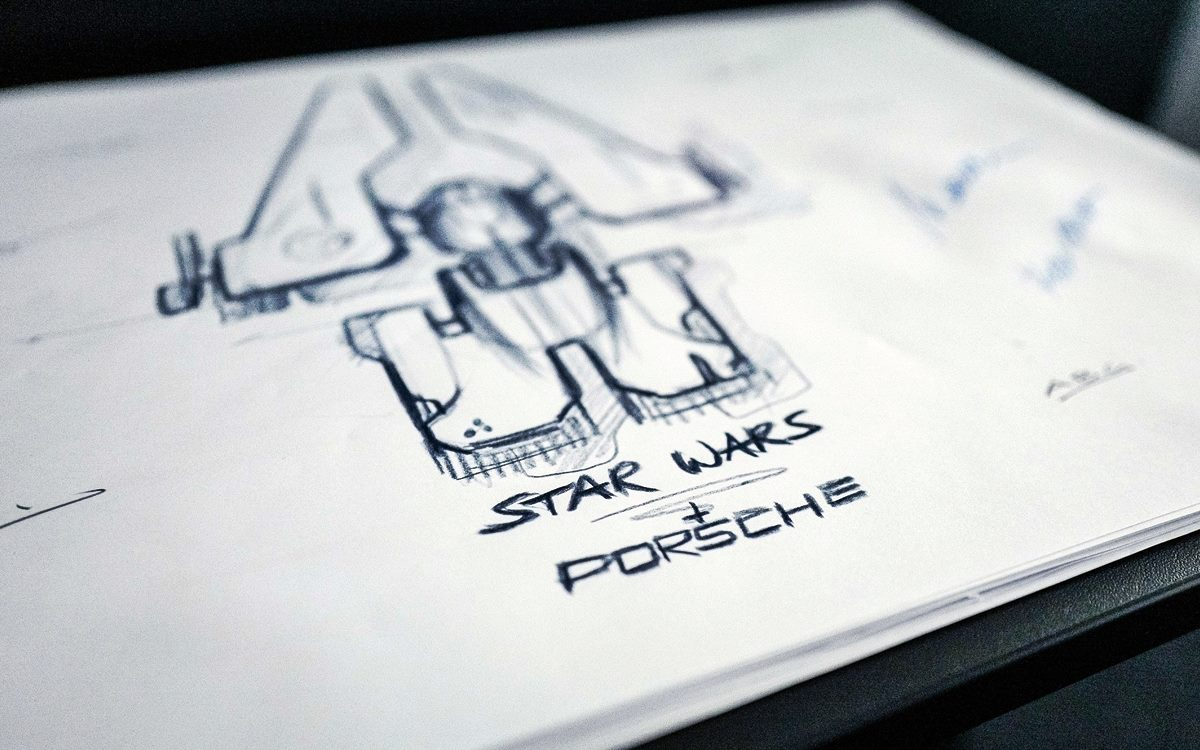 Porsche tendrá su nave para el universo de Star Wars