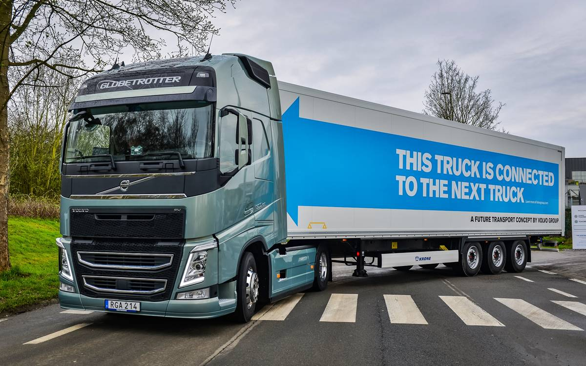 The Volvo Group exceeds one million connected vehicles