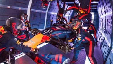 Red Bull Pit Stop zero gravity