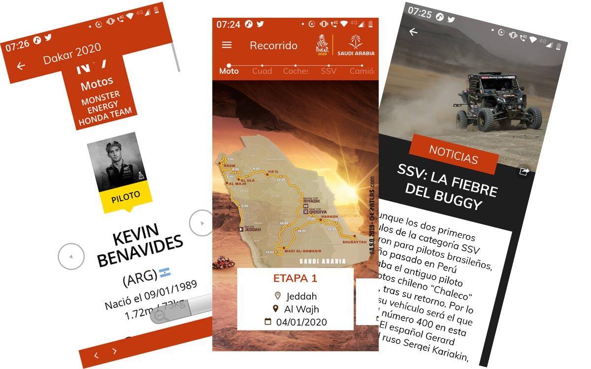Dakar App 2020