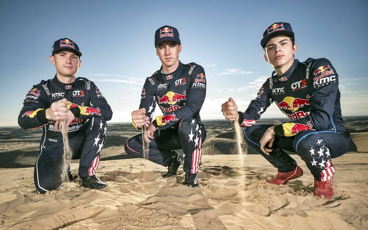 El Red Bull Off-Road Junior listo para el Dakar