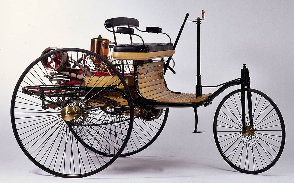 Hace 134 años Mercedes-Benz patentó el primer automóvil