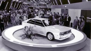 Audi celebrates 40 years of the Audi quattro