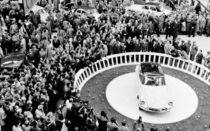 Salon de Paris 1955 - Citroen DS 19