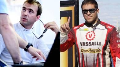 Ricardo Risatti y Valentin Aguirre, los pilotos del Midas Racing Team.