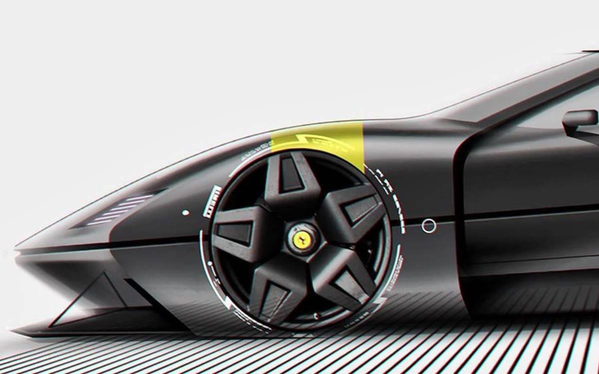 Ferrari F40 EV