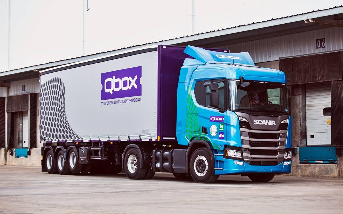 QBox Scania R410 4x2 GNC