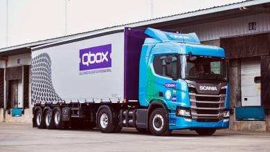 QBox Scania R410 4x2 CNG