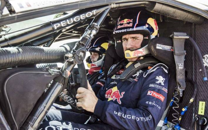 Stéphane Peterhansel Peugeot Dakar 2016