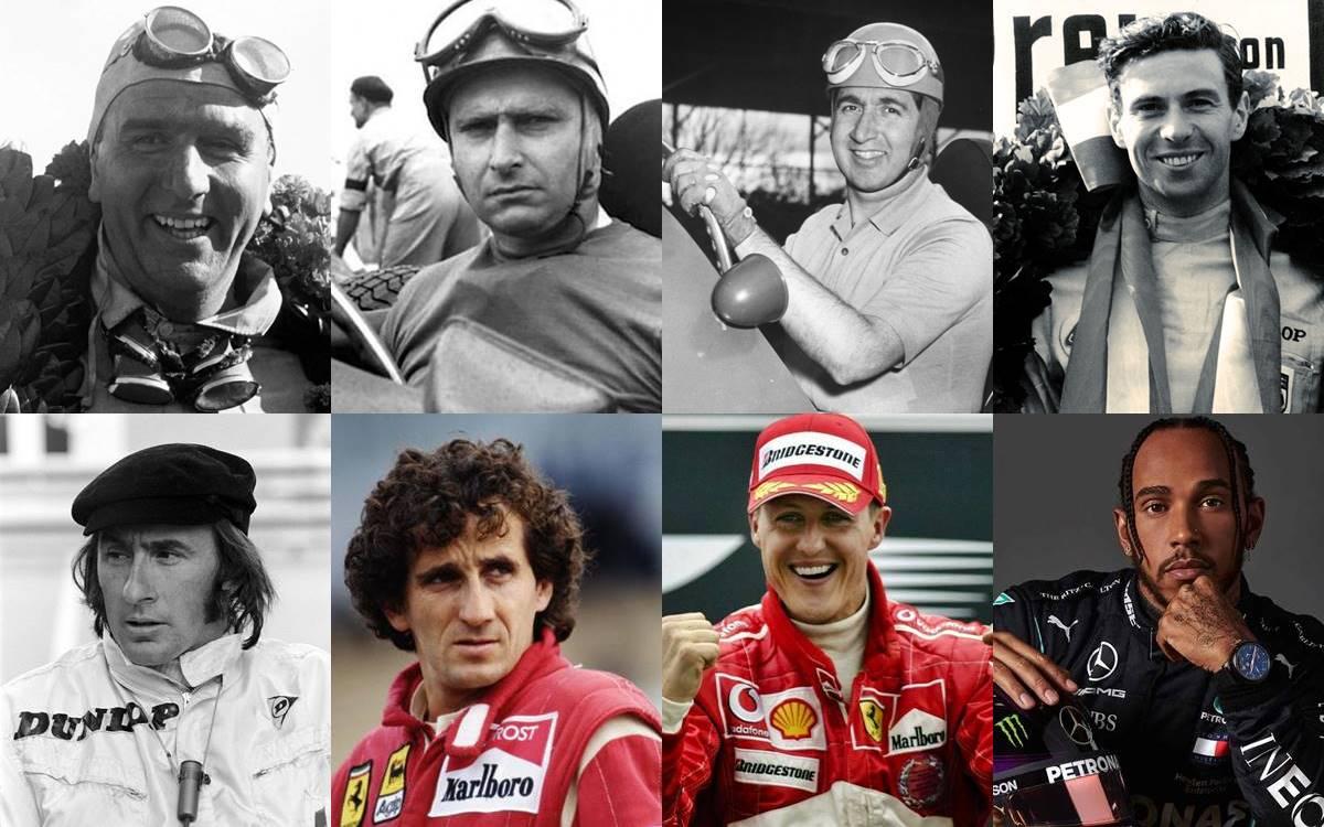 Ganadores Fórmula 1
