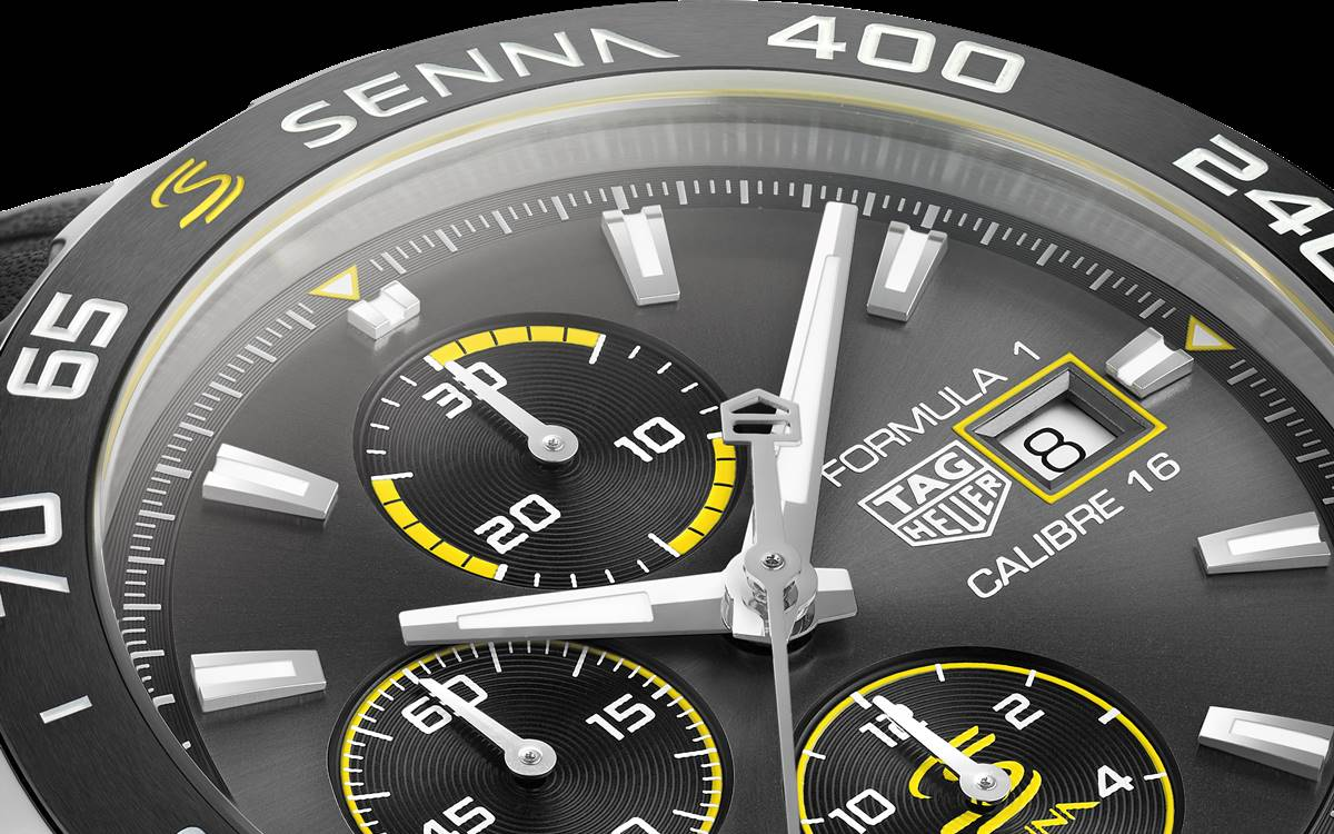 TAG Heuer Fórmula 1 Senna Edition