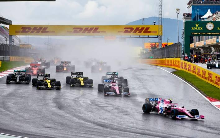 Largada GP de Turquía