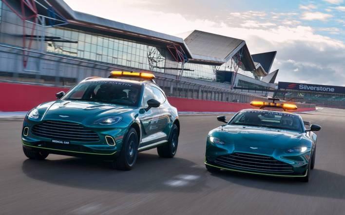 Aston Martin safety cars