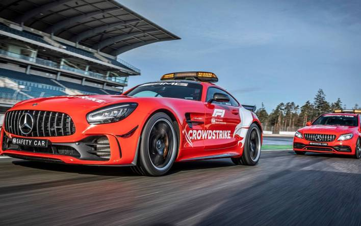 Mercedes safety cars