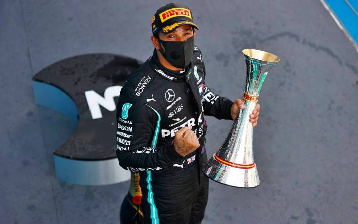 Lewis Hamilton España 2020