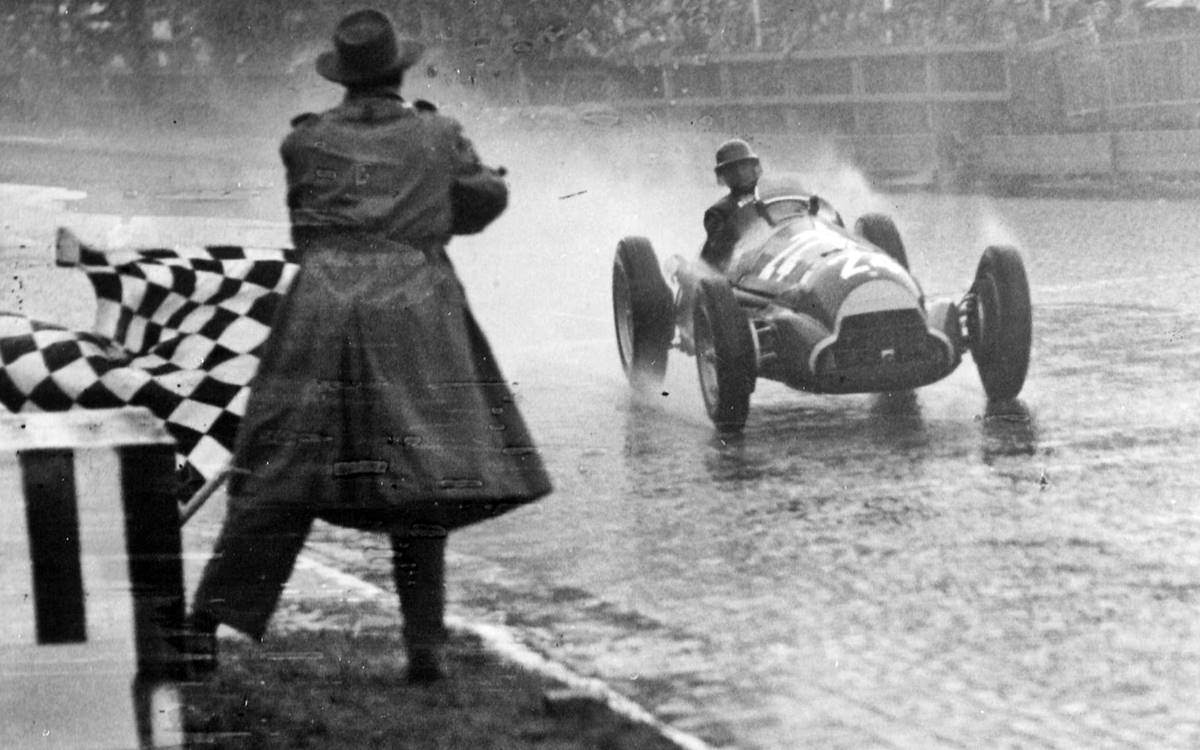 Juan Manuel Fangio Switzerland 1951