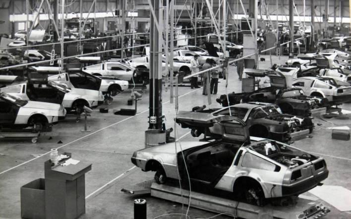 DeLorean DMC-12 factory