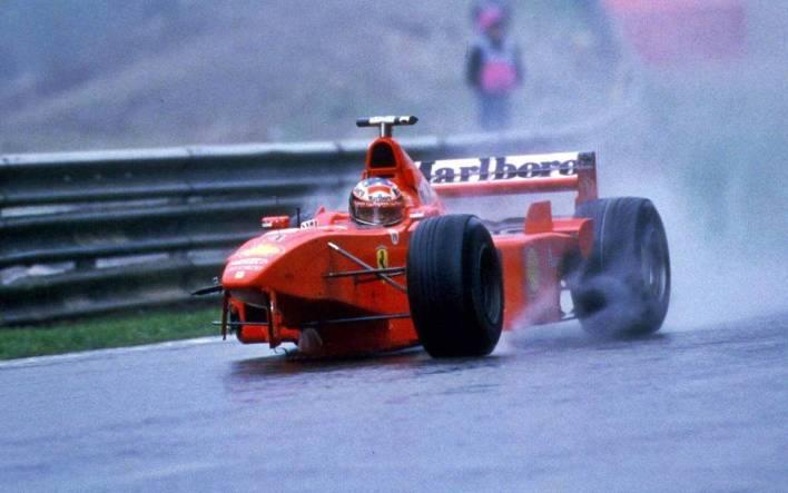 Michael Schumacher Belgium 1998