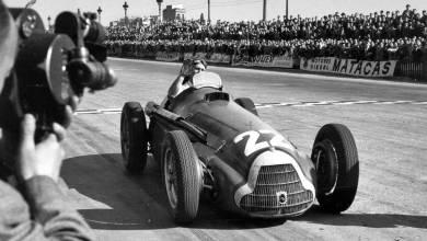 Juan Manuel Fangio 1951 Pedralbes