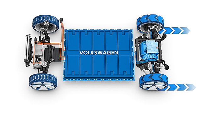 Volkswagen naručio baterije u vrijednosti Tesle
