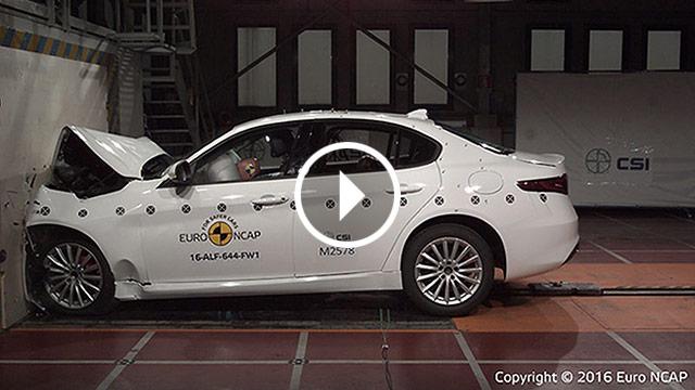 Euro NCAP – 5 zvjezdica za modele Alfa Romeo Giulia, Seat Ateca i VW Tiguan