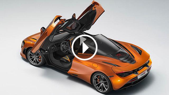 McLaren 720S – prva službena fotografija vanjštine i video najava interijera