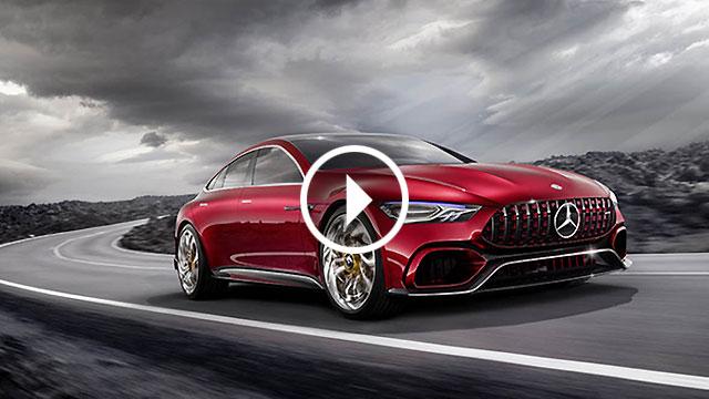 Mercedes-AMG GT Concept – 815 KS za buduću AMG-ovu limuzinu