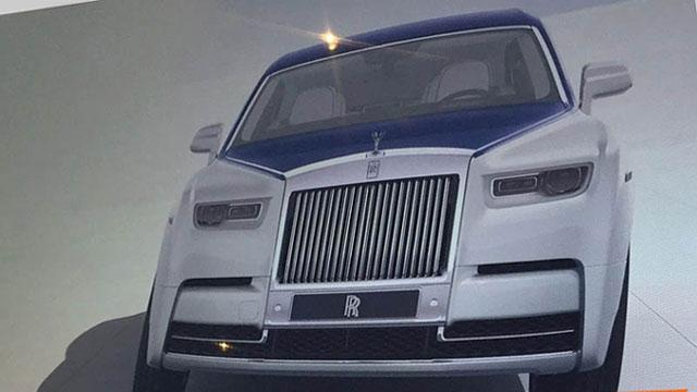 Je li ovo novi Rolls-Royce Phantom?