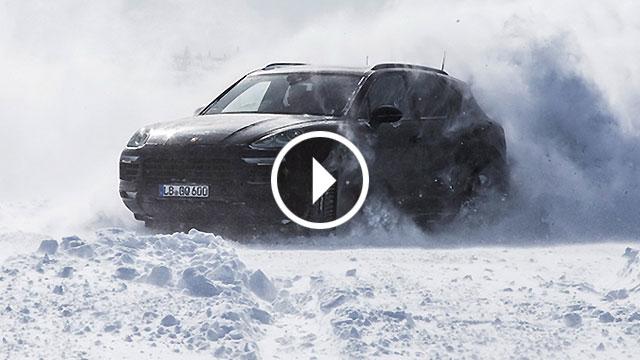 Porsche temeljito testirao novi Cayenne