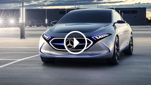 Mercedes-Benz EQ A najavio električni hatchback