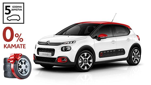 Citroën C3 sada je još privlačniji uz zimske gume na poklon