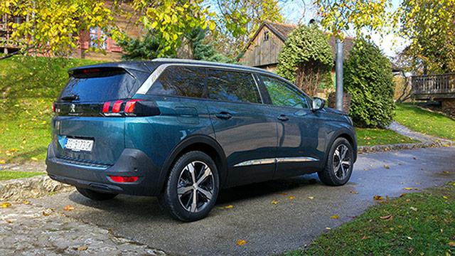 Peugeot 5008 i 308 facelift