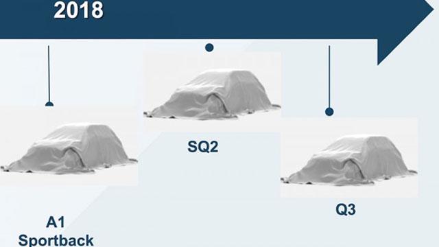 Audi ove godine predstavlja novi A1, Q3 i SQ2?
