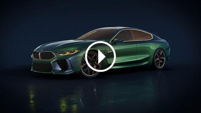 BMW M8 Gran Coupe – vizija zgodne limuzine