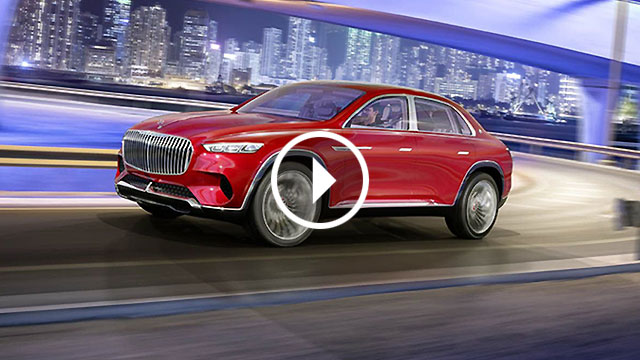 Vision Mercedes-Maybach Ultimate Luxury – neobično dijete SUV-a i limuzine
