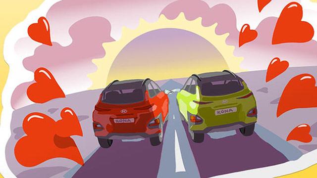 Hyundai donosi Viber stickere s motivom modela Kona