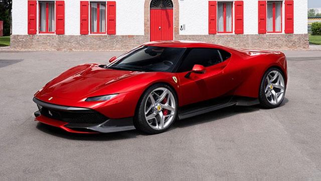 Ferrari SP38 – vrlo poseban konjić