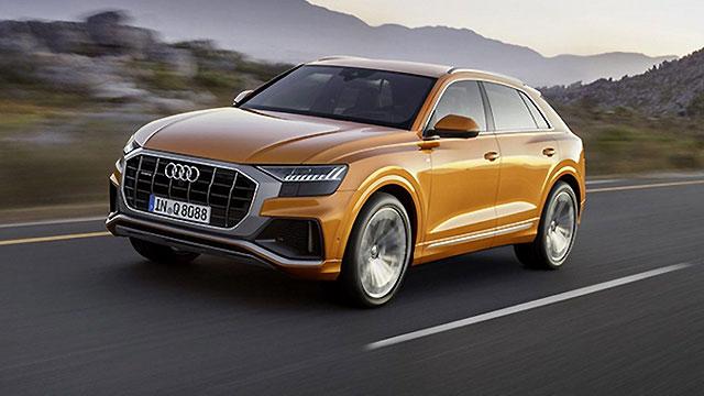 Audi Q8 – prve fotografije