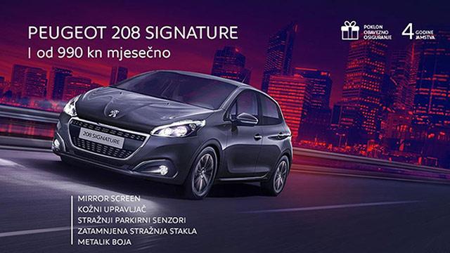 Posebno izdanje: Peugeot 208 Signature