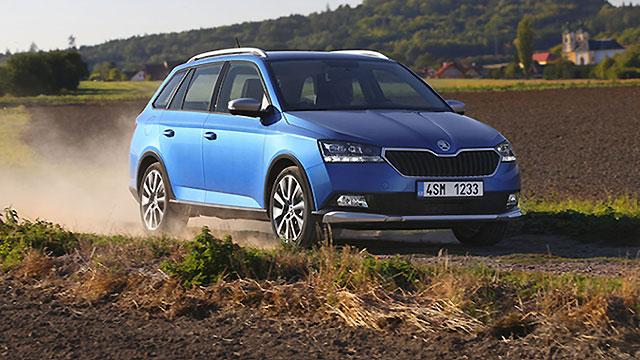 Škoda predstavila osvježenu izvedbu modela Fabia Combi Scoutline