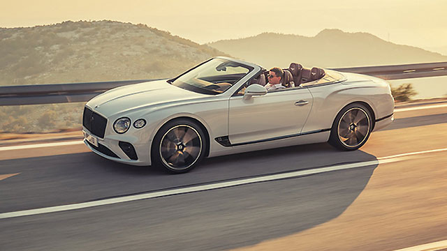 Bentley predstavio Continental GT Convertible