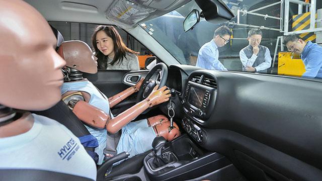Hyundai razvija multi-collision zračni jastuk