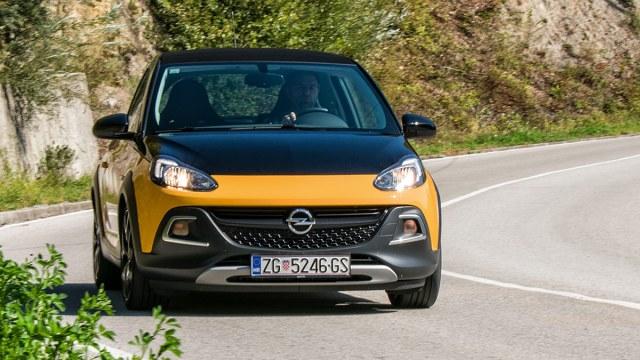 Opel Adam 1.4 Turbo Rocks S