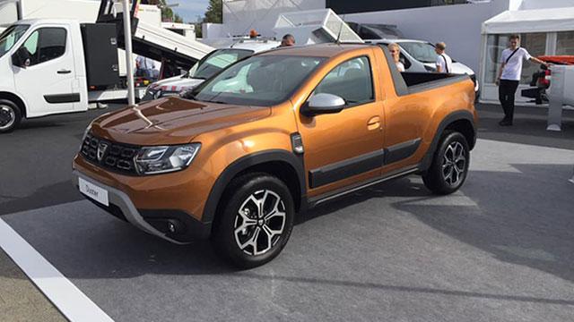 Dacia priprema Duster pickup
