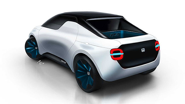 Honda Tomo – električni pickup i coupe za mlade