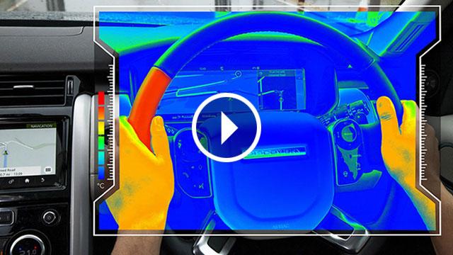 Jaguar Land Rover – toplinom pokazati smjer i smanjiti distrakciju